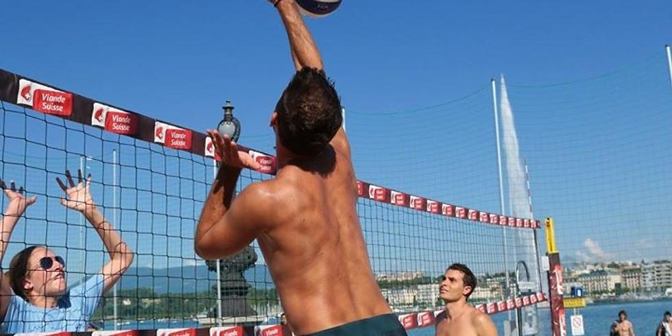 tournoi beach volley mixte 2x2 / 14 juin 2020