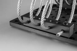 Adjustable Mil-spec wire.