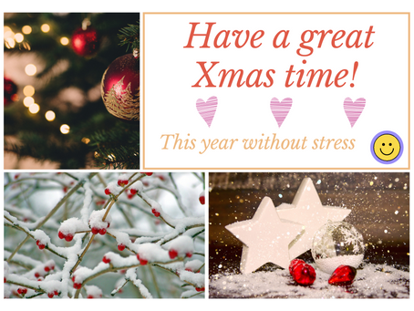 Enjoy the Run-up to Christmas without Stress