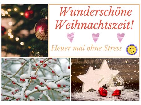 Die Weihnachtszeit genießen – ohne Stress