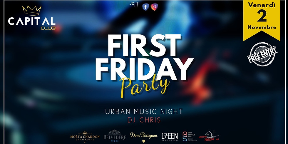 First Friday Party / Urban Music Night