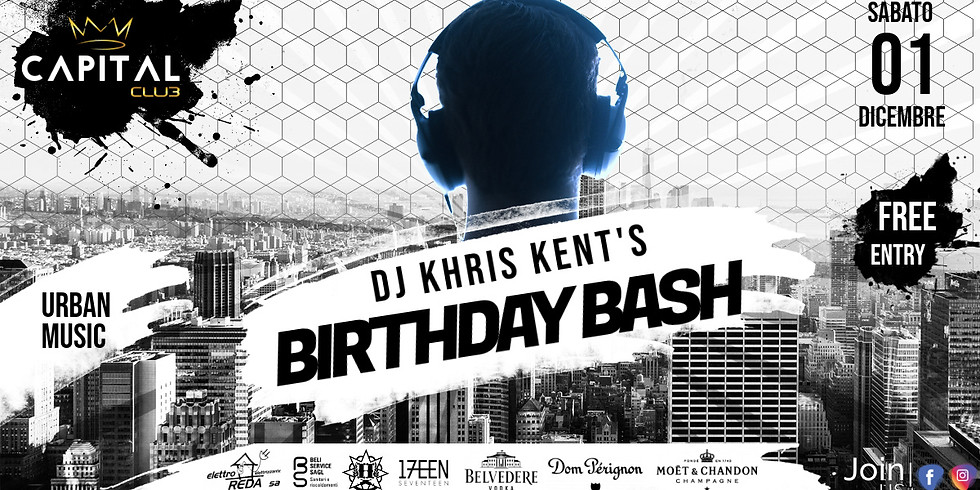 DJ KHRIS KENT'S BIRTHDAY BASH