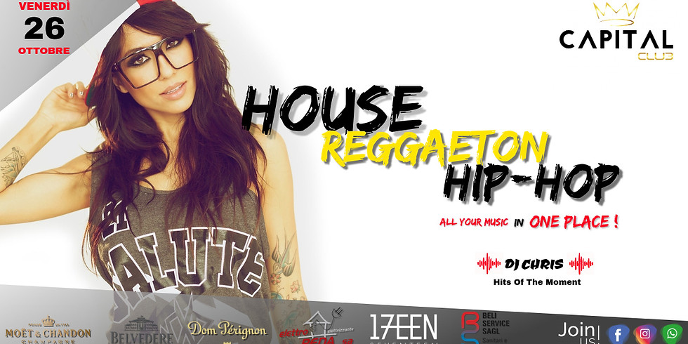 All Your Music in One Place! House, Reggaeton, Hip-Hop