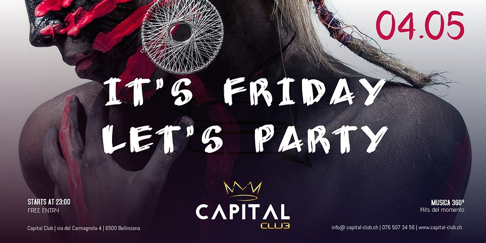 It's Friday Let's Party!