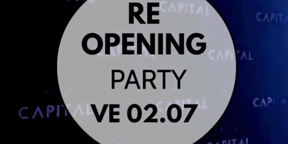 RE-OPENING PARTY