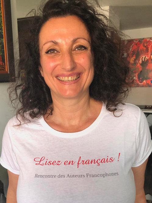 """LE TEE SHIRT """"LISEZ EN FRANÇAIS""""!"""