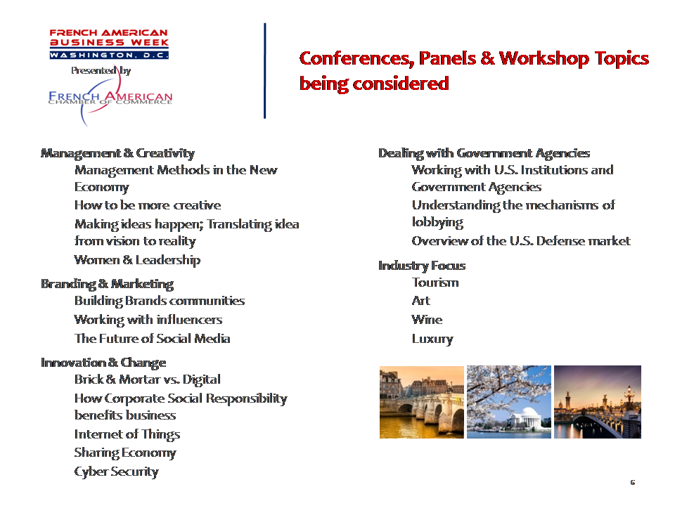 FABW - conference topics