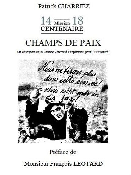 CHAMPS DE PAIX - Patrick Charriez