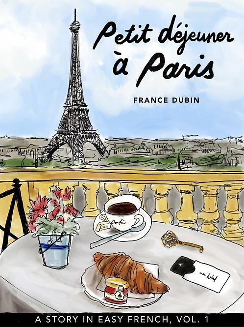 LIVRE BILINGUE - PETIT DEJEUNER À PARIS - FRANCE DUBIN