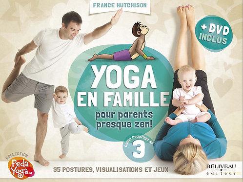 YOGA EN FAMILLE /DVD INCLUS - FRANCE HUTCHISON