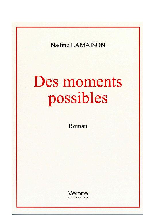 DES MOMENTS POSSIBLES - NADINE LAMAISON