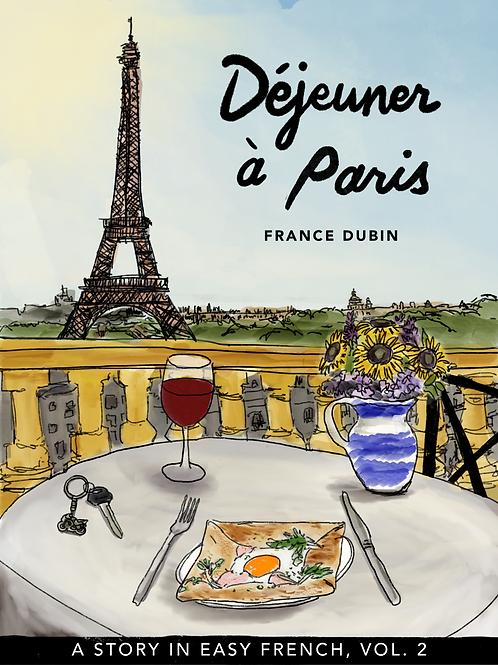 LIVRE BILINGUE - DÉJEUNER À PARIS - FRANCE DUBIN