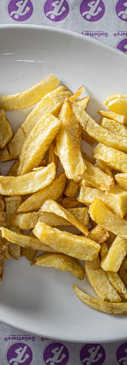 Takeaway Frying Pan Fish And Chips Hertford England