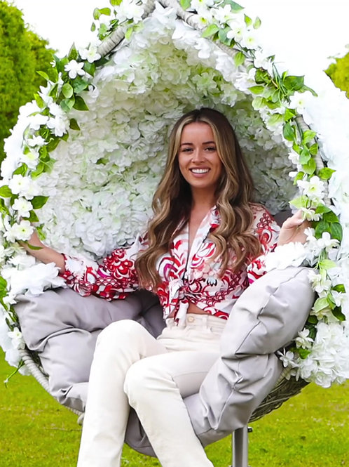 Floral Egg Chair Hire