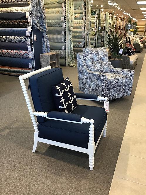 Navy Blue Nautical Chair