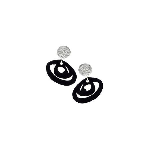 Inkstroke Earrings 2