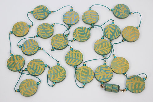 Long Disks Necklace 4