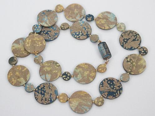 Mini Disks Necklace