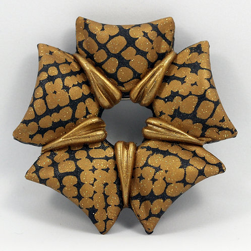Open Penrose Brooch