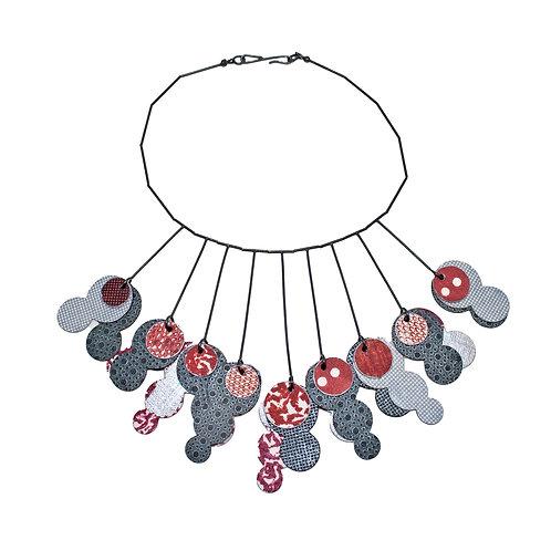 Collograph Necklace