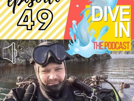 Russell on Dive In: The Podcast