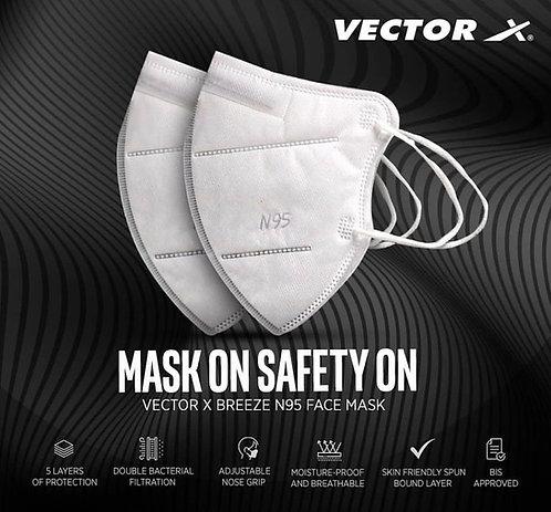 Vector x breeze N95 mask ( EACH )