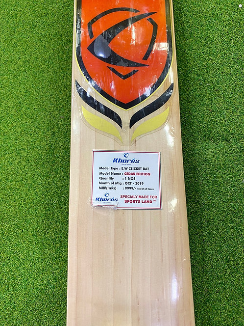 CEDAR EDITION ENGLISH WILLOW CRICKET BAT