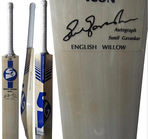 Triple crown icon sg cricket bat