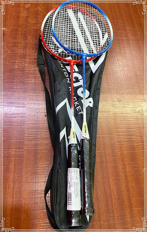 Vector badminton rackets ( pair )
