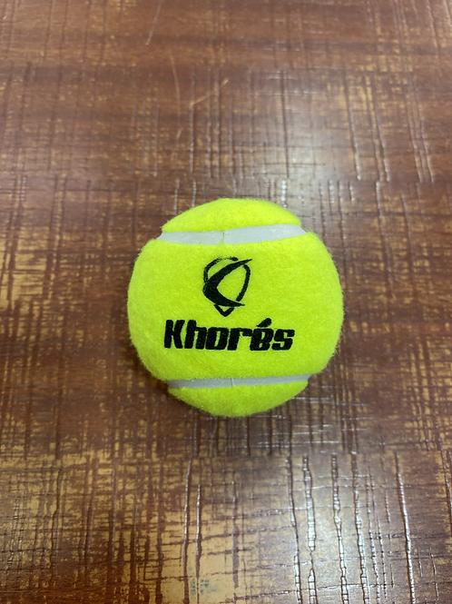 KHORES YELLOW SOFT TENNIS BALL