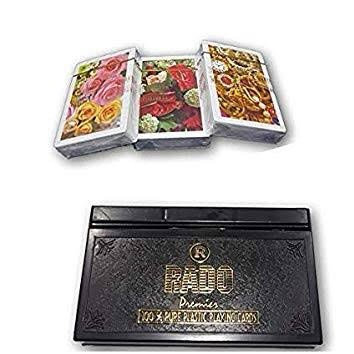 Plastic cards set of 3