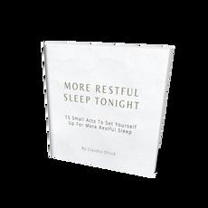 More Restful Sleep Tonight