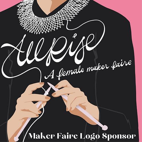 Maker Faire Logo Sponsorship