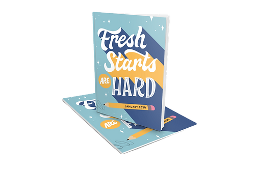 Fresh Starts Are Hard Booklet