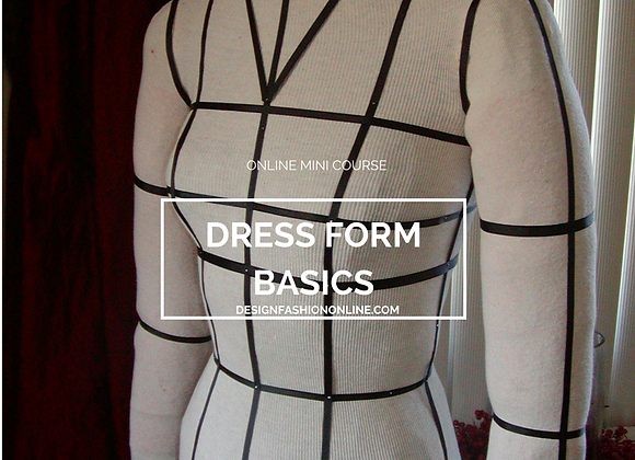 Dress Form Basics-CD