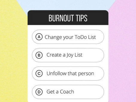4 Tips for Tackling Burnout