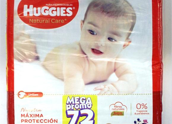 Huggies Mx72 Natural Care
