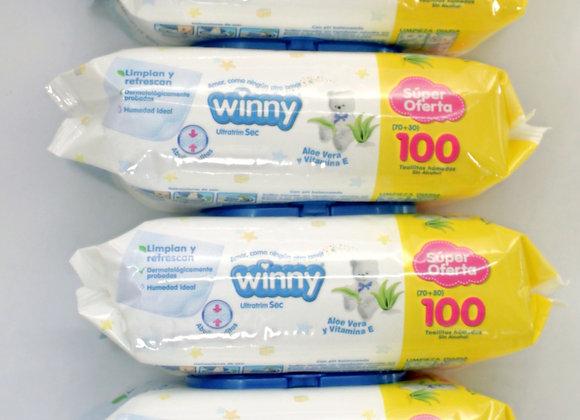 Pañitos Winny x600Unds
