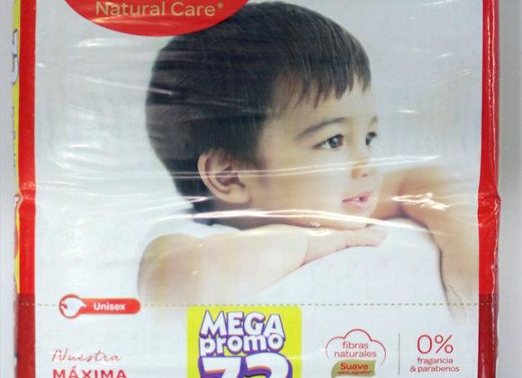 Huggies Natural Care XGx72