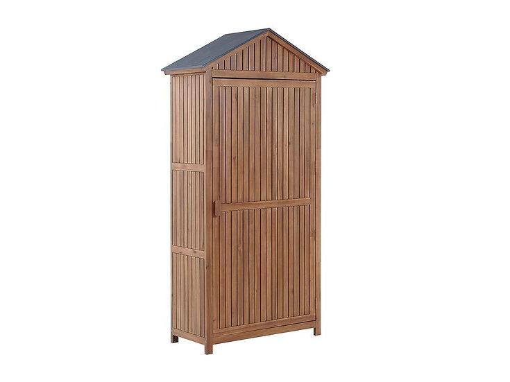 Gartenschrank Akazienholz braun 200 x 100 cm