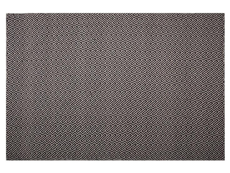 Outdoor Teppich beige 160 x 230 cm