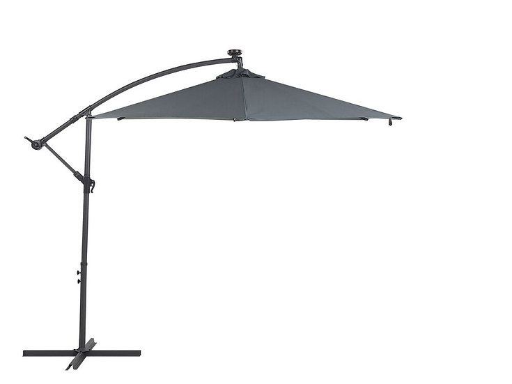 Sonnenschirm LED Solar Beleuchtung ⌀ 285 cm