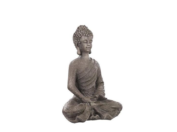 Gartenfigur Buddha Steinoptik 48 cm