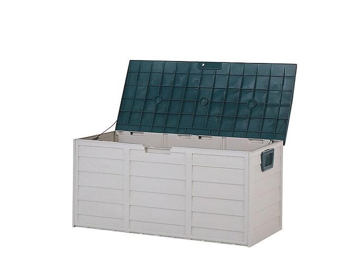 Auflagenbox Kunststoff beige 112 x 50 cm