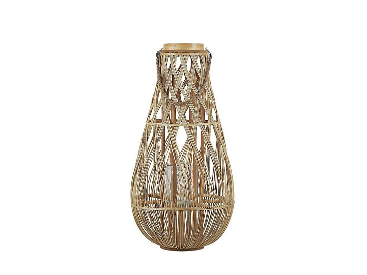 Laterne Bambusholz 77 cm