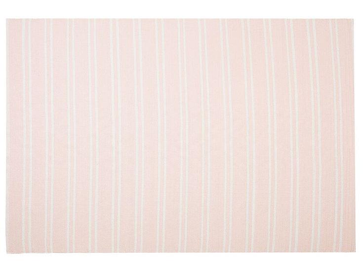 Outdoor Teppich rosa 160 x 230 cm zweiseitig