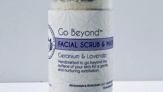Go Beyond™ Facial Scrub and Mask