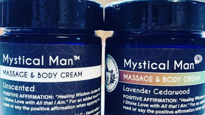 Mystical Man™ Massage and Body Cream