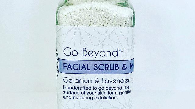 Go Beyond™ Facial Scrub and Mask