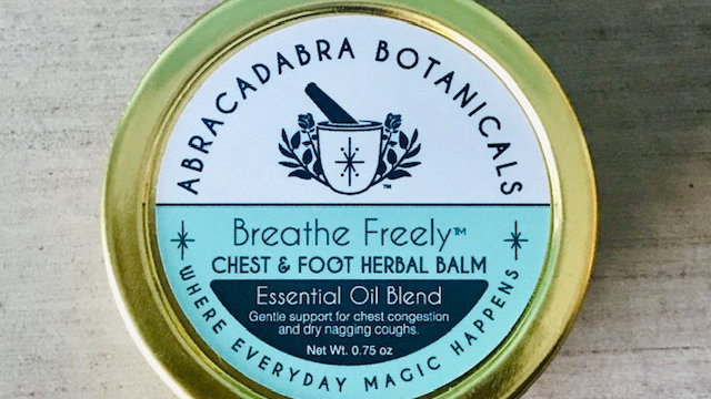 Breathe Freely™ Chest & Foot Balm